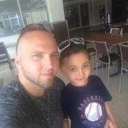 Matt and son